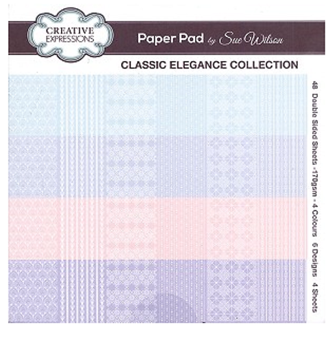 Classic Elegance Collection - Paper Pad
