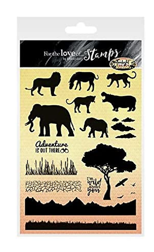 Twilight Safari A5 Stamp Se