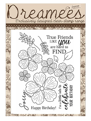 Dreamees True Friends Stamp Set