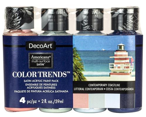 Color Trends - Contemporary Coastline