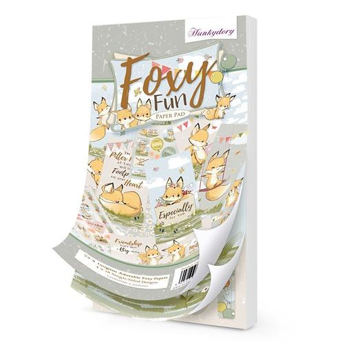 Foxy Pun DL Paper Pad