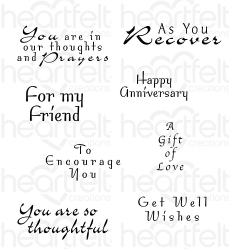 Encourage You Cling Stamp Set