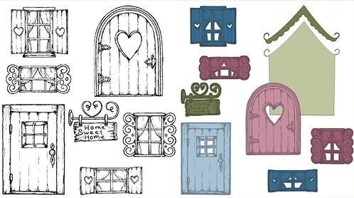 Wildwood Cottage Die & Stamp Set
