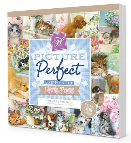 """Little Paws Picture Perfect 8x8"""" Paper Pad"""