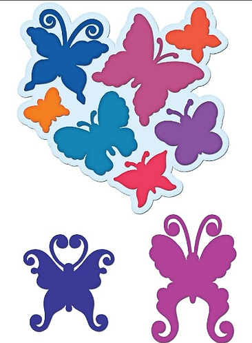 Butterfly Medley Die