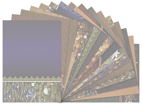 Return to Midnight Garden Luxury Card Inserts