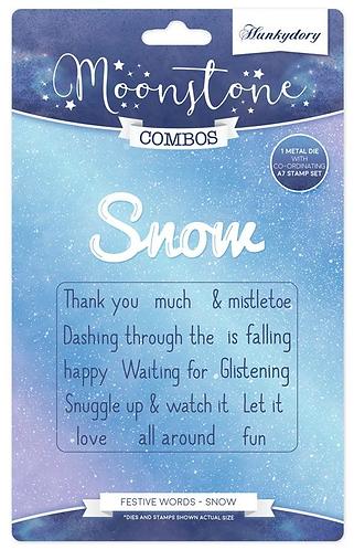 Festive Words - Snow