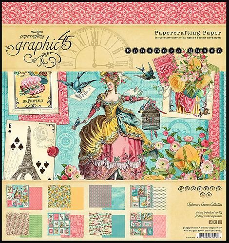 Ephemera Queen 8x8 Pad
