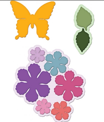 Butterfly Medley Collection - Botanical Wings Die
