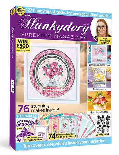 Hunkydory Design Collection Box Magazine Issue 10
