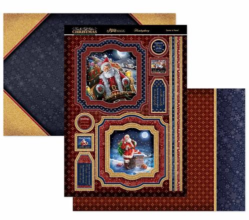 Santa is Here Mirri Magic Topper Set