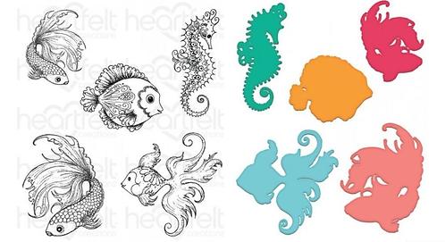 Under The Sea Die & Stamp Set