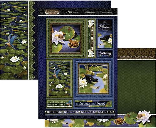 Moonlit Lily Pond Mirri Magic Topper Set