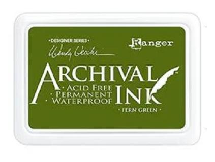 Archival Ink™ Pad Fern Green - AID38962
