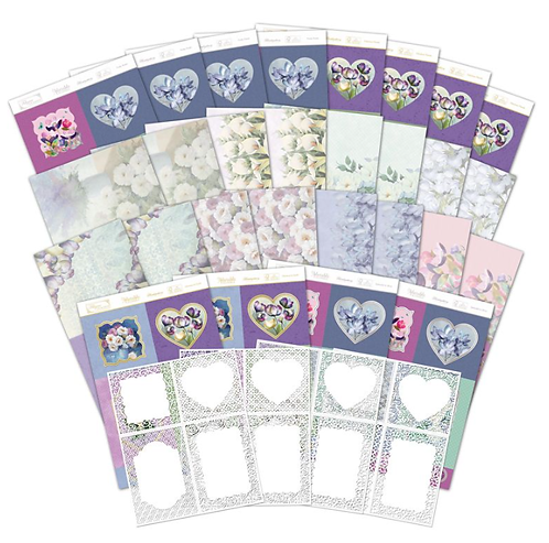 Filigree Frames - Frosted Florals Collection