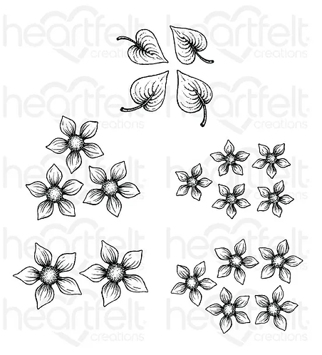 Purr-fect Posies Collection - Purr-fect Posies Cling Stamp Set