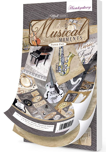 Musical Moments DL Paper Pad