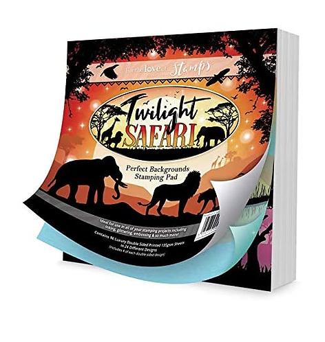 Twilight Safari Perfect Backgrounds Stamp Pad