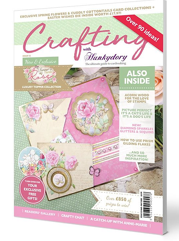 Crafting with Hunkydory Issue 52