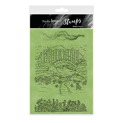 Fairy Enchantment - Hidden Forest - A5 Stamp Set