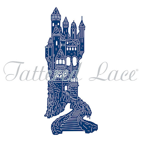 Tattered Lace Snow Castle Die