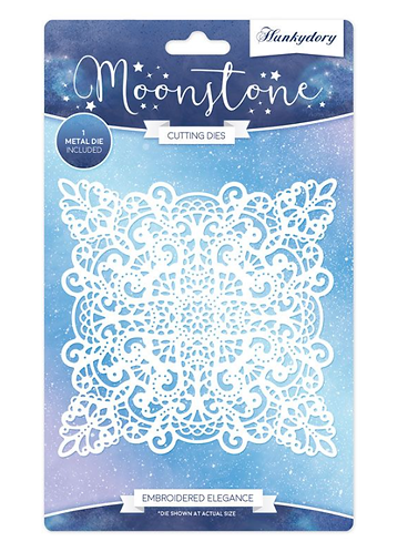 Everlasting Memories - Embroidered Elegance - Moonstone Dies