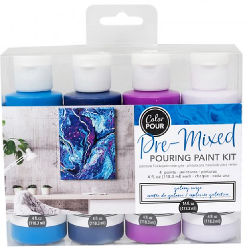 POURING PAINT KIT – GALAXY