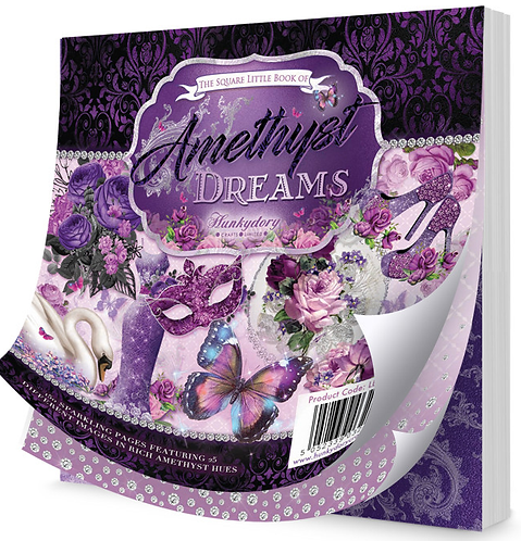 HunkyDory - The Square Little Book of Amethyst Dreams