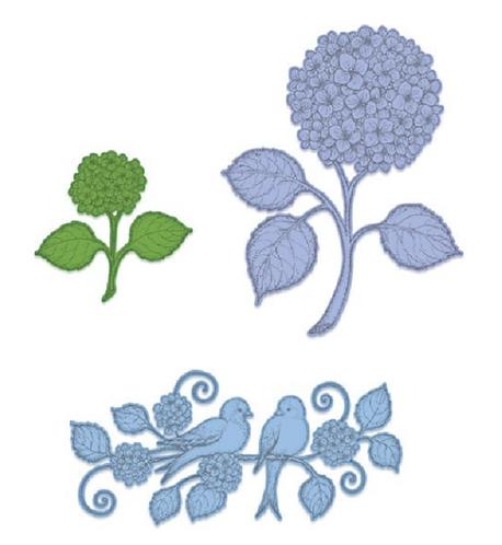 Cottage Garden Collection - Fresh Cut Hydrangea Die