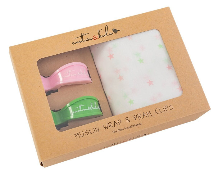GELATI STAR WRAP & CLIPS SET
