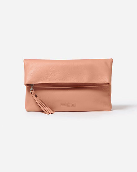 LILY CLUTCH - CORAL
