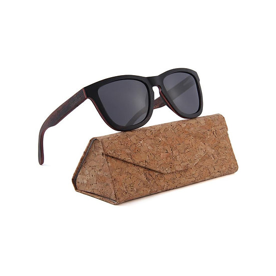 CHESTER DARK WOOD SUNGLASSES