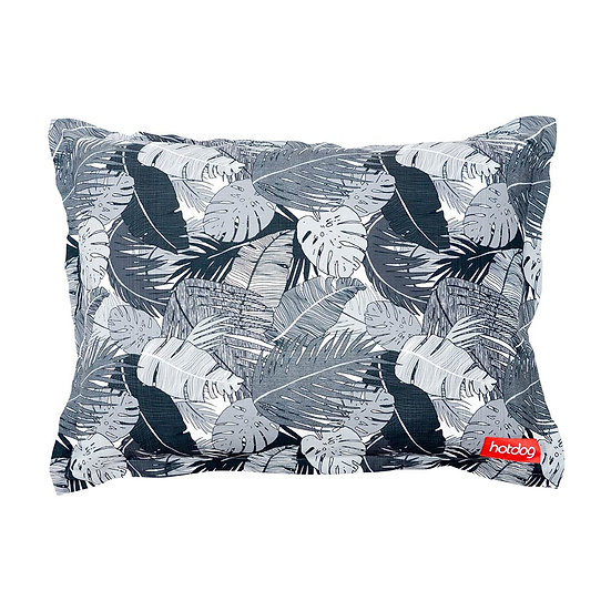 PET BED - TROPICAL BLACK& WHITE