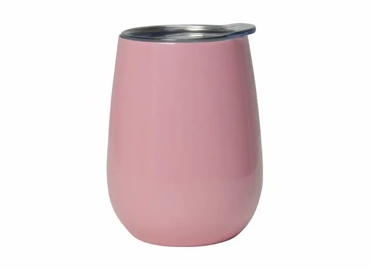 DOUBLE WALLED PICNIC WINE TUMBLER - GLOSS CANDY