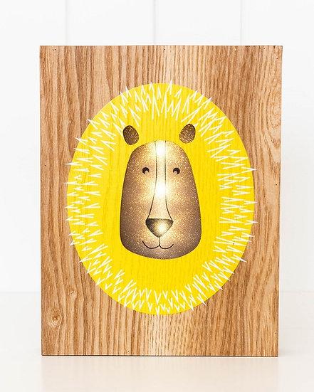 LAZY LION NIGHT LIGHT