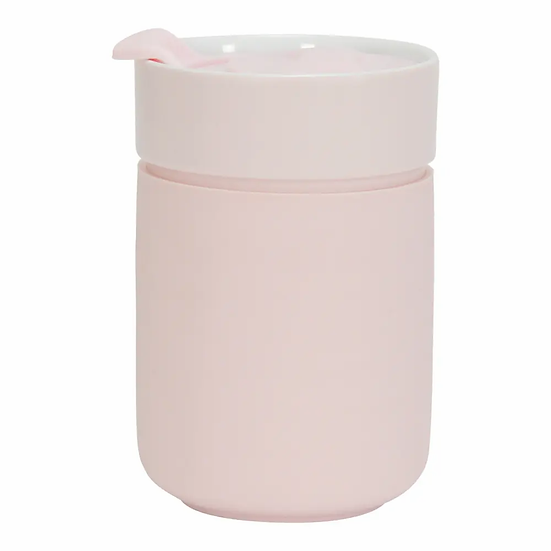 CERAMIC TRAVEL CUP -PINK