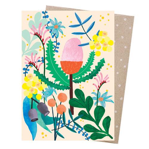 GREETING CARD - AUSSIE FLORALS