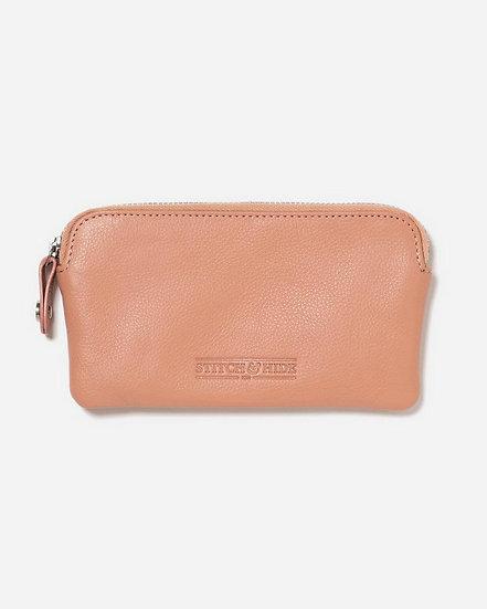 LUCY POUCH - CORAL