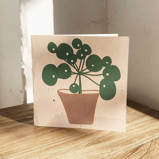PLANTABLE CARD - PARSLEY