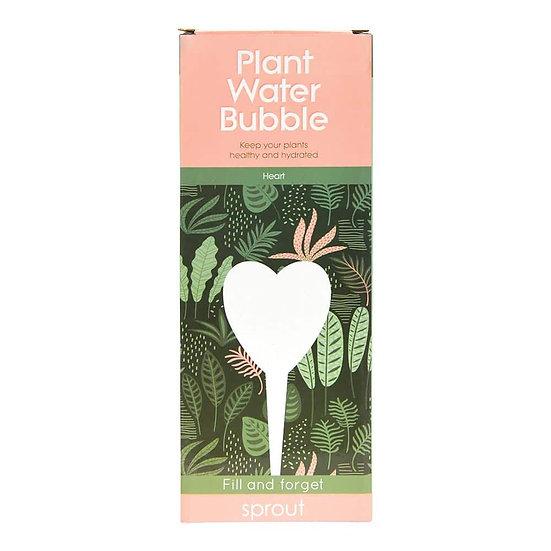 PLANT WATER BUBBLE - HEART