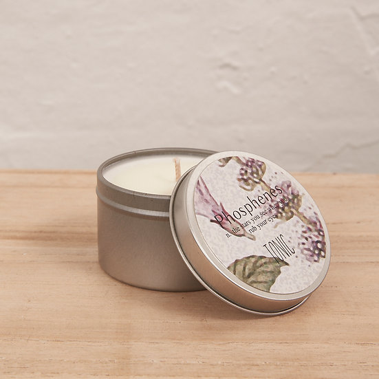 TRAVEL TIN CANDLE (VARIOUS SCENTS)