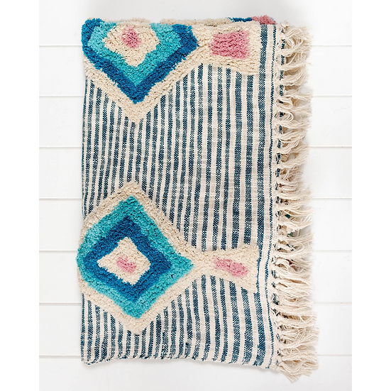 BATIK THROW BLANKET