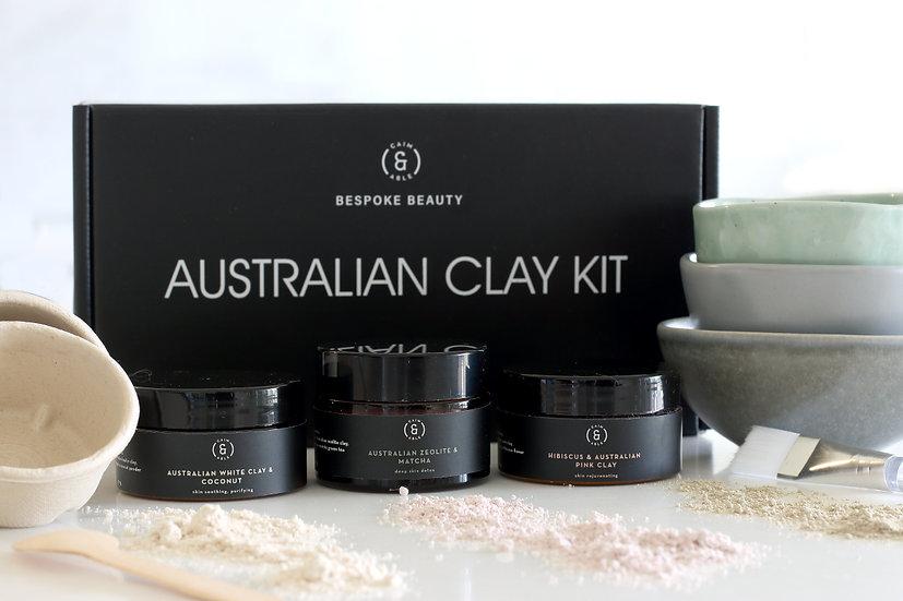 AUSTRALIAN CLAY BEAUTY KIT