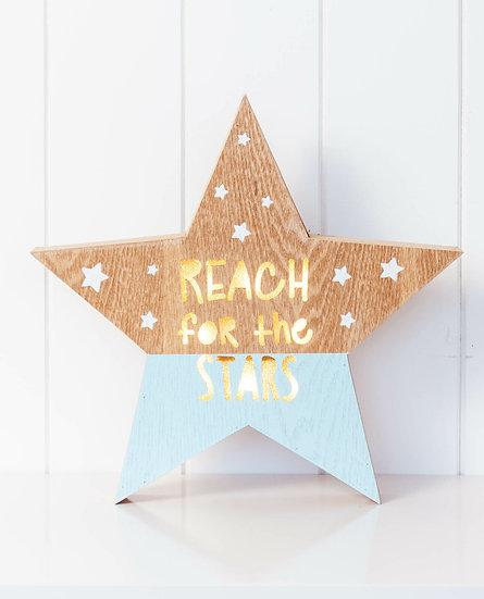 REACH FOR THE STARS NIGHT LIGHT