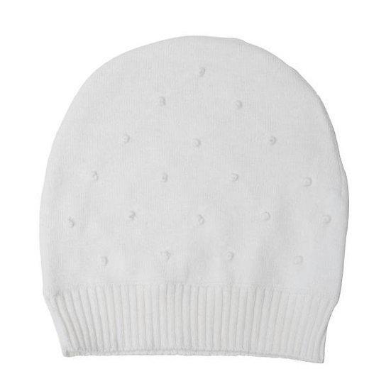 CREAM KNOT HAT