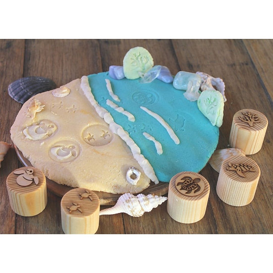 TURTLE LIFECYCLE PLAYDOUGH STAMPS