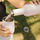 Thumbnail: DOUBLE WALLED PICNIC WINE BOTTLE - ROSE GOLD