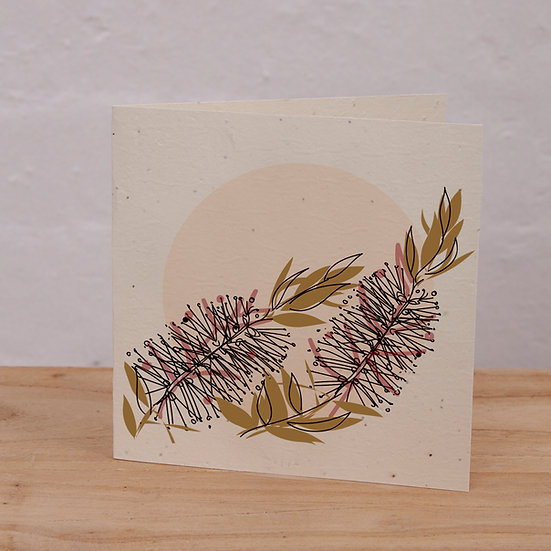 PLANTABLE CARD - BOTTLEBRUSH