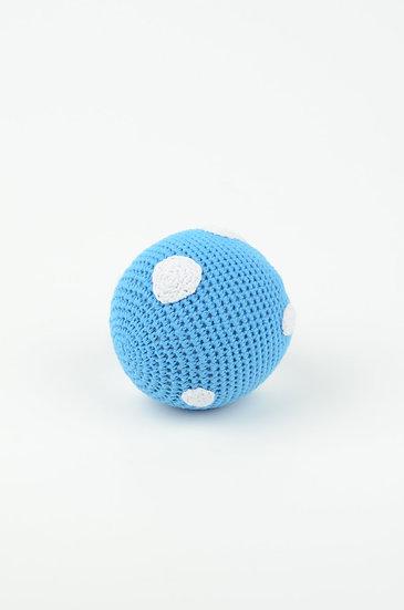BLUE BALL RATTLE