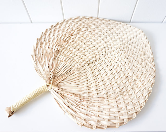 BREEZE WOVEN FAN